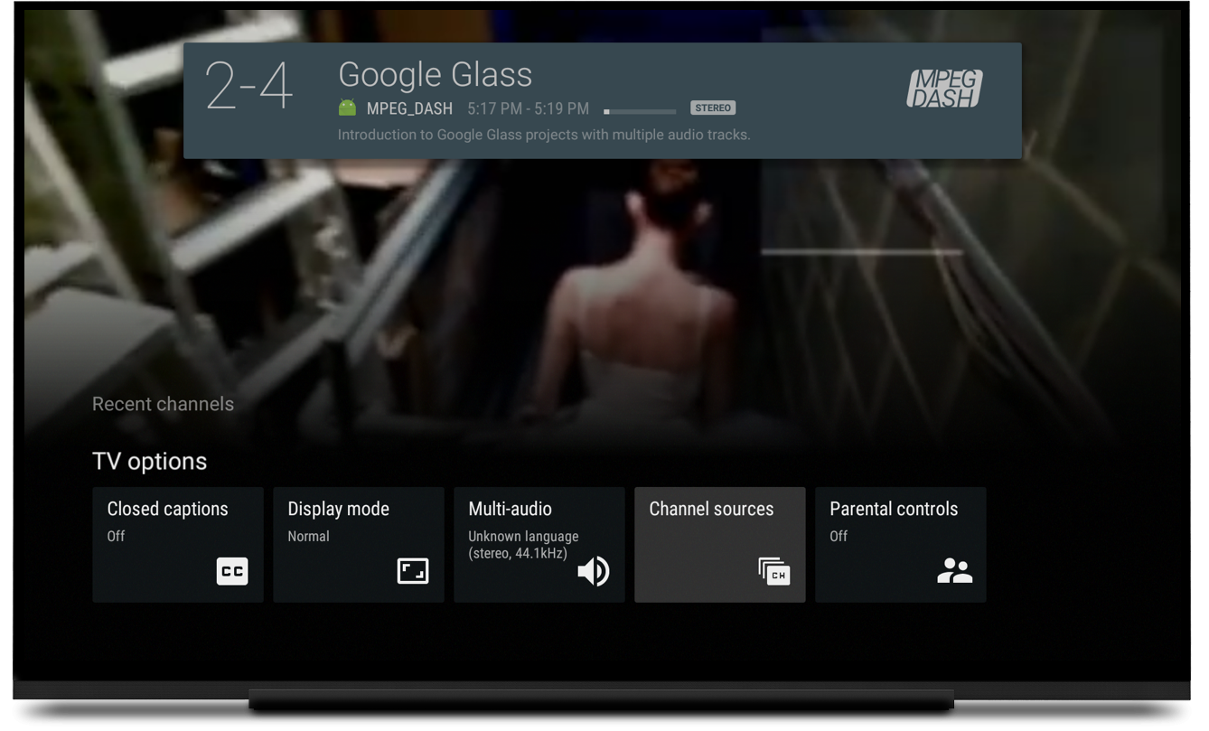 Android Samples - androidtv-sample-inputs