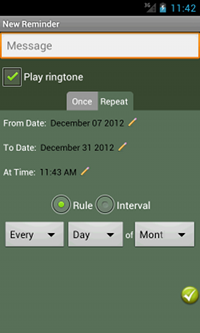 Developing the UI with AlertDialog, ToggleButton, ViewSwitcher
